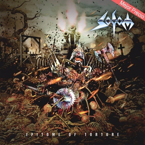 sodom epitome of torture cd $199 original ¡envío gratis!