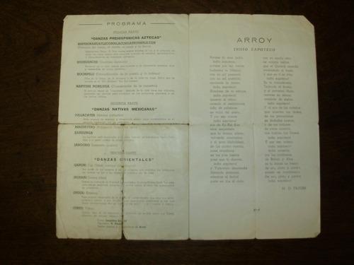 sodre estudio auditorio programa 16 mayo 1948 bailarin arroy