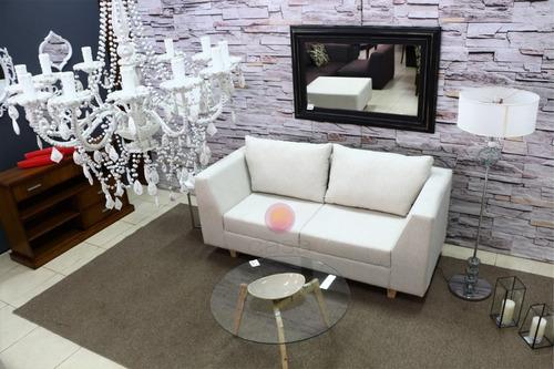 sofa 180 cm tapizado lino