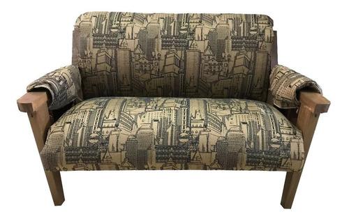sofa 2 cuerpos en madera sofía  mi casa