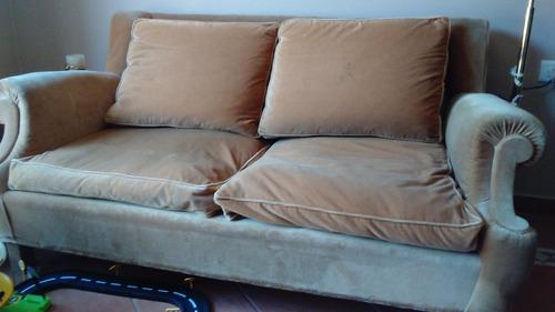 sofa 2 cuerpos estilo ingles. muy buen estado!!