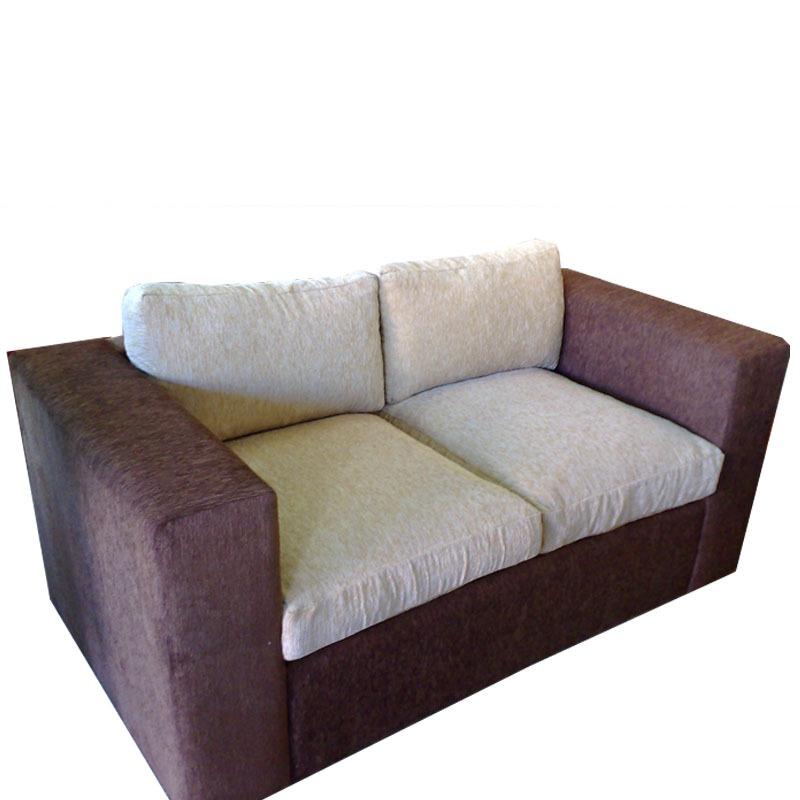 Sofa 2 cuerpos minimalista muy confortable varios colores for Sofa minimalista