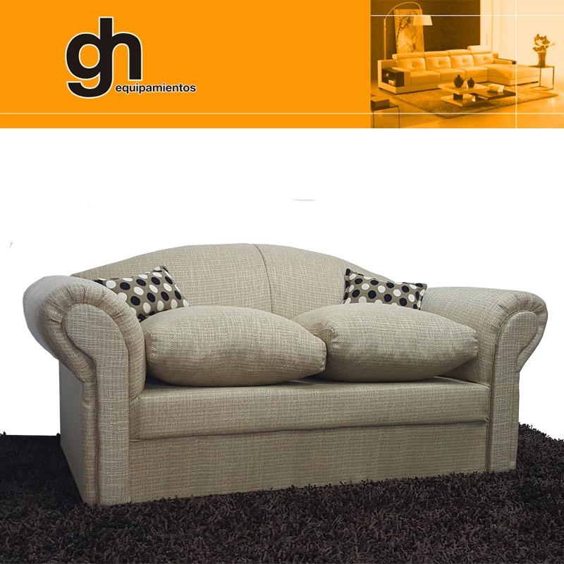 Sofa 2 cuerpos muy c modo y moderno variedad de colores gh en mercado libre - Sofas muy comodos ...