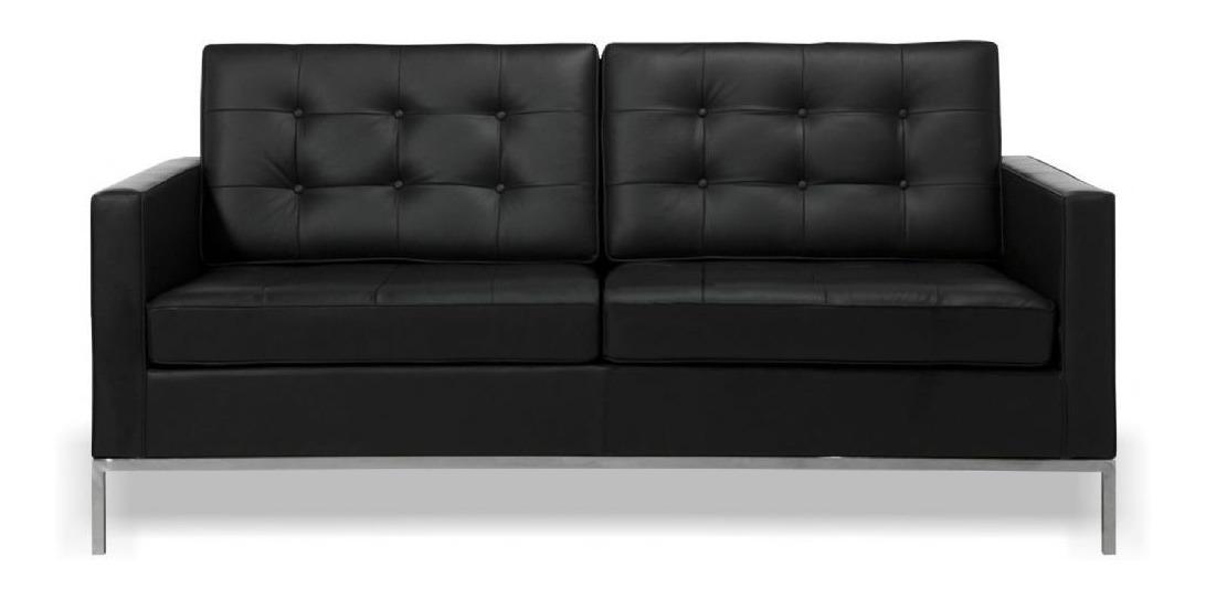 Sofa 2 Lugares Fk Florence Knoll Couro
