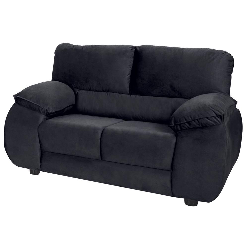 7114d8df4 sofá 2 lugares luizzi atrative em tecido suede veludo. Carregando zoom.