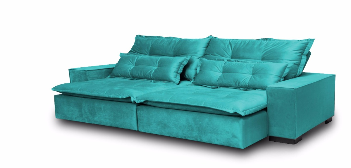 Sofa reclinavel e retratil 2 lugares for Sofa 03 lugares retratil e reclinavel