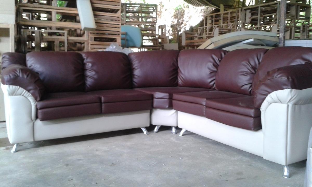 Sof 2 Puestos En Bipiel Somos Fabricantes La Mejor Calidad Bs  # Como Limpiar Muebles Bipiel
