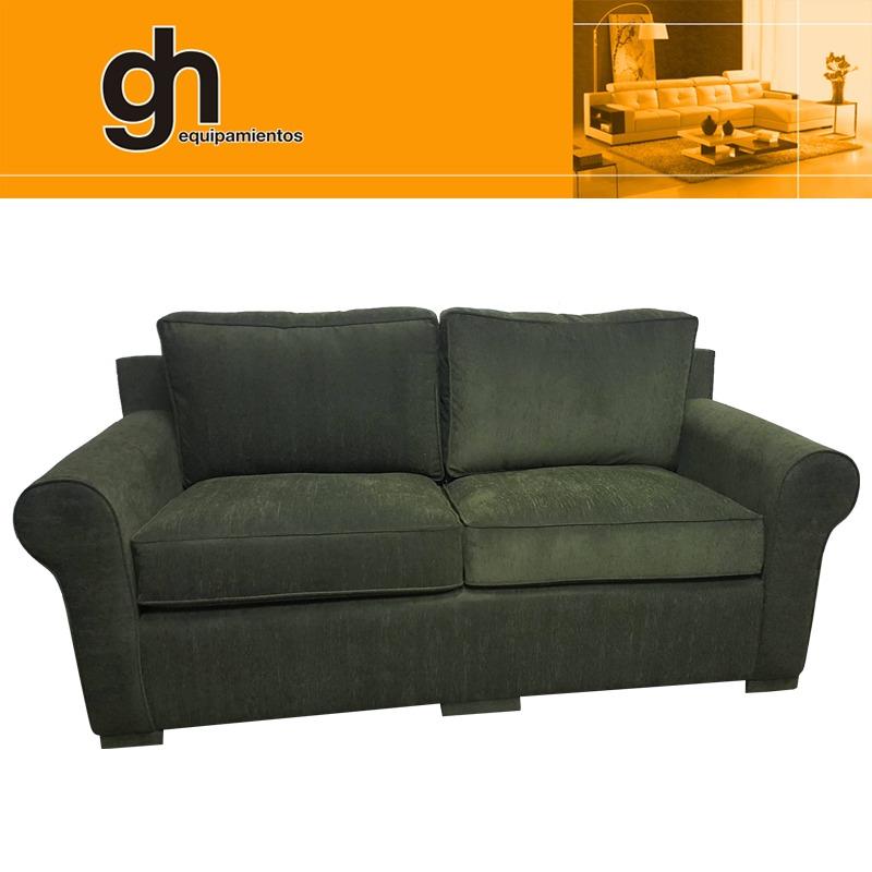 Sofa 3 cuerpos con fundas cl sico y moderno muy c modo en gh en mercado libre - Sofas muy comodos ...