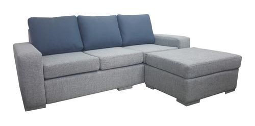 sofa 3 cuerpos con isla
