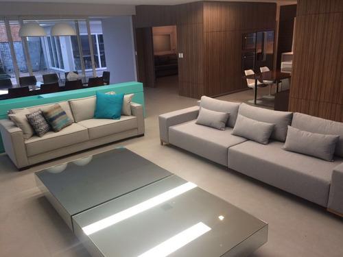 sofa 3 lugares 2.20m - modelo bs 01 - (tecido linho)