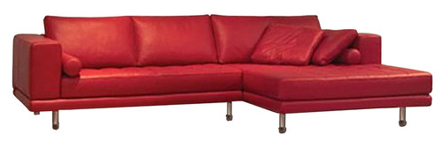 sofá 3 lugares moderno couríssimo, linho ou suede