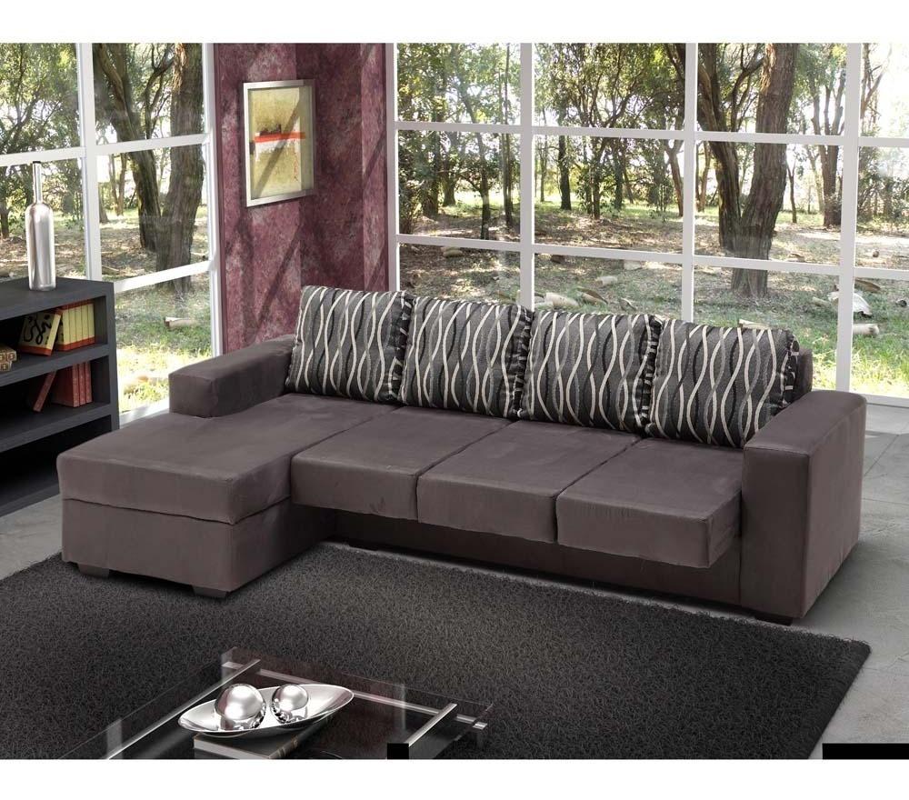 Terrific Sofa 3 Lugares Moveis Avalon Assento Retratil Chaise Direito Machost Co Dining Chair Design Ideas Machostcouk