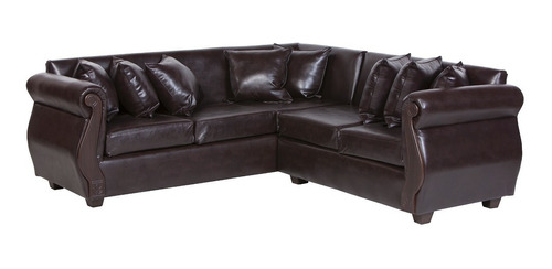 sofa 5 cuerpos seccional clean pu innovamobel