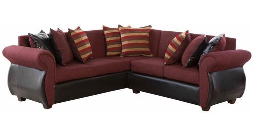 sofa 5 cuerpos seccional napoles tela-pu innovamobel