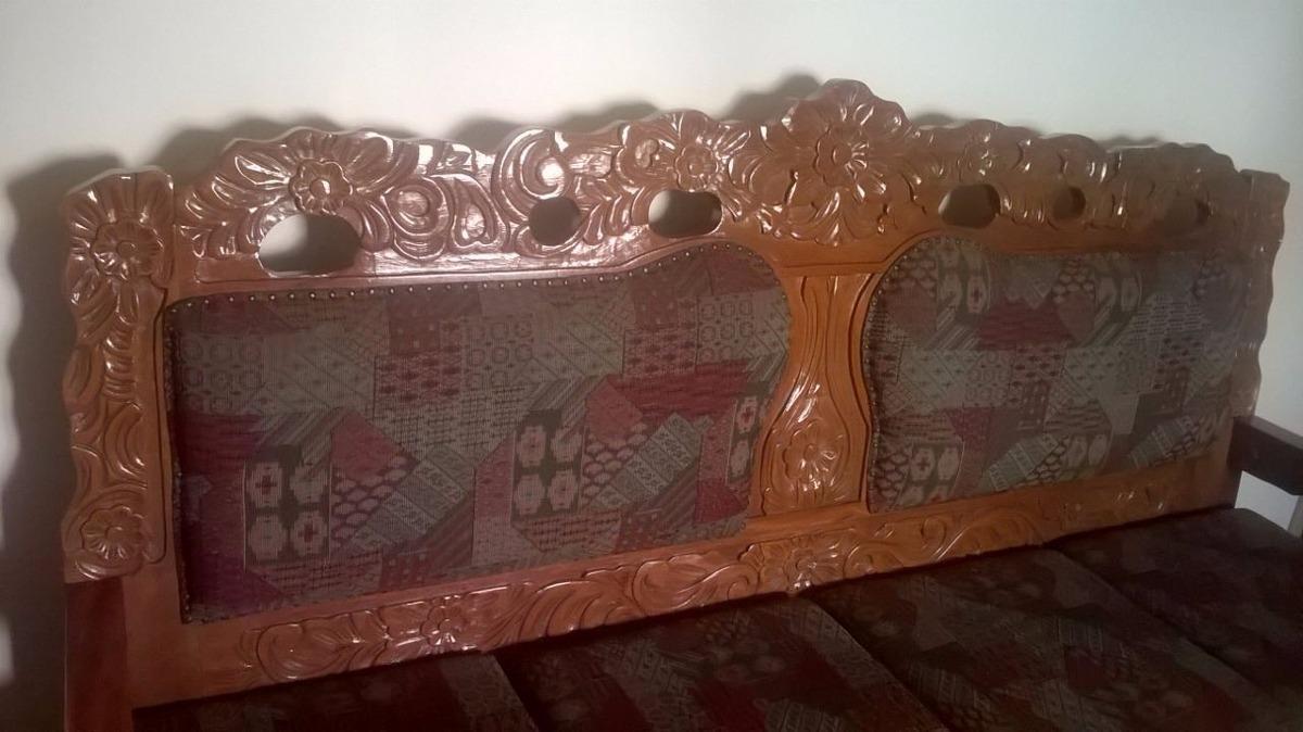 Sofa Antigo De Madeira - R$ 6.000,00 em Mercado Livre