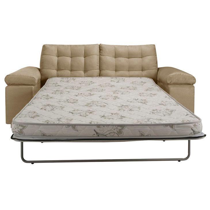 Sofá-cama 2 Lugares, Herval Milkway Mh 4081, Bege - R$ 2 ...