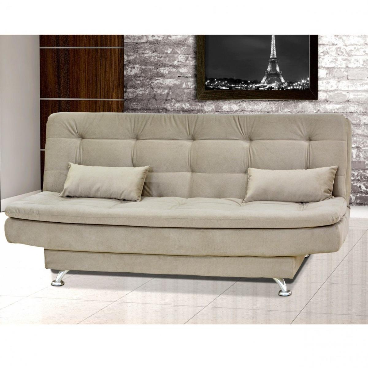 e2052ad4f sofá cama 3 lugares com 2 almofadas salomé matrix jh. Carregando zoom.