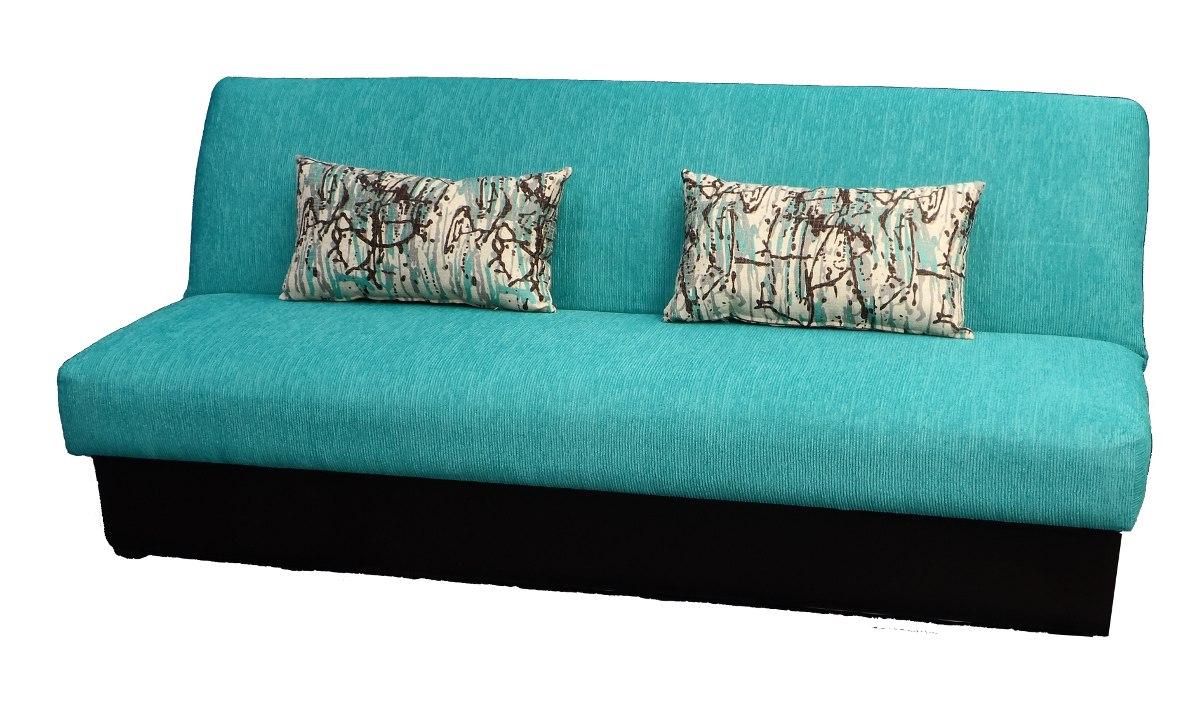 Sofa cama antonia 3 posiciones con cobijero 3 for Mercado libre sofa camas nuevos