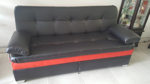 sofa cama baúl multifuncional colchoneta envío gratis