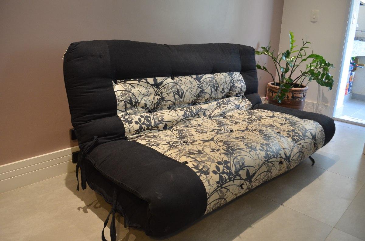 Estrado para sofa cama futon casal r 450 00 em mercado for Futon cama 2 plazas