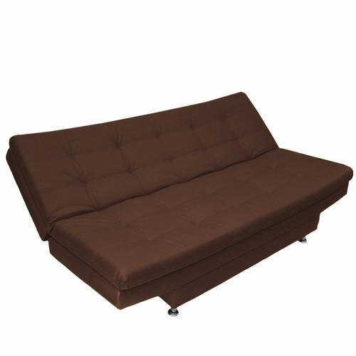 sofá cama click colchoneta ecocuero muebles fantasia