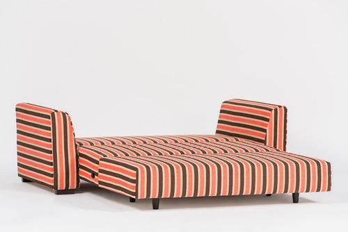 sofa cama color living atlas 2 plazas cuotas sin interes