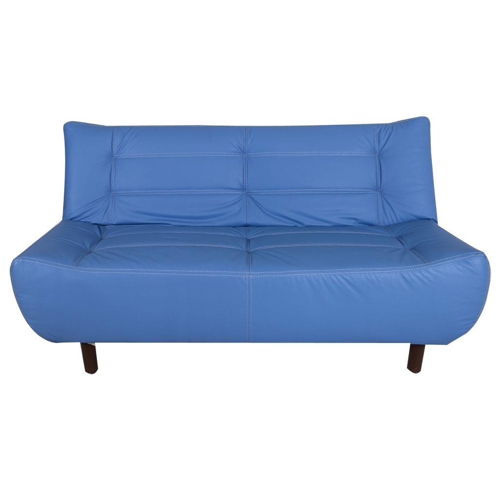 Sof cama contempor neo verza color azul 4 en for Salas con sofa cama