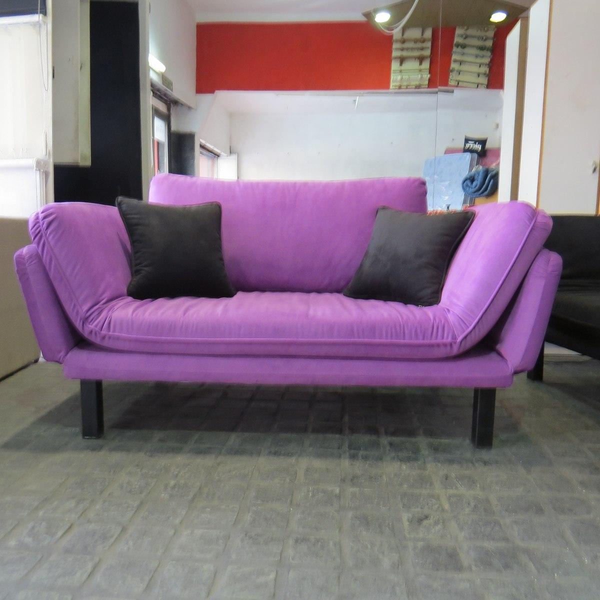 Sofa Camas Convertibles Arco Iris Living En Mercado Libre Argentina