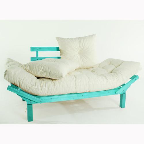 sofá cama country comfort (com almofada) 1854-2 mão ej