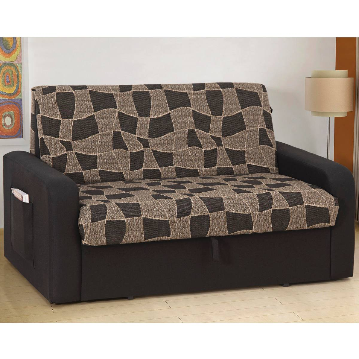 Sof cama daiane com ba 158 166 wt r 540 78 em mercado for Compra de sofa cama