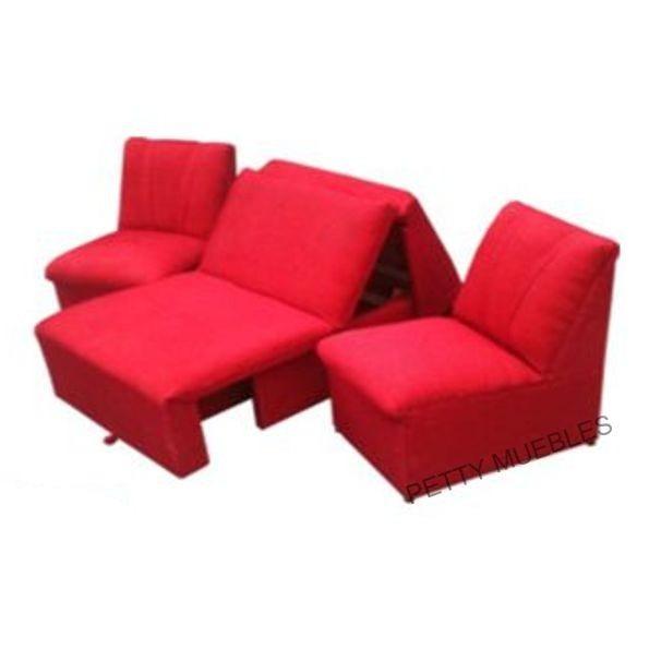 Sofa cama de 1 plaza 2 modulos de 1 cuerpo for Sofa cama 1 plaza chile