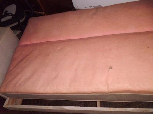 Sofa cama de pantasote usado 2 plazas en for Sofa cama de 2 plazas