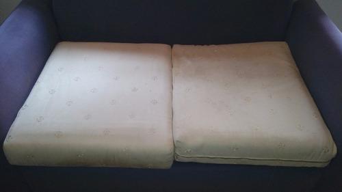 sofa cama dos puestos tela moderno