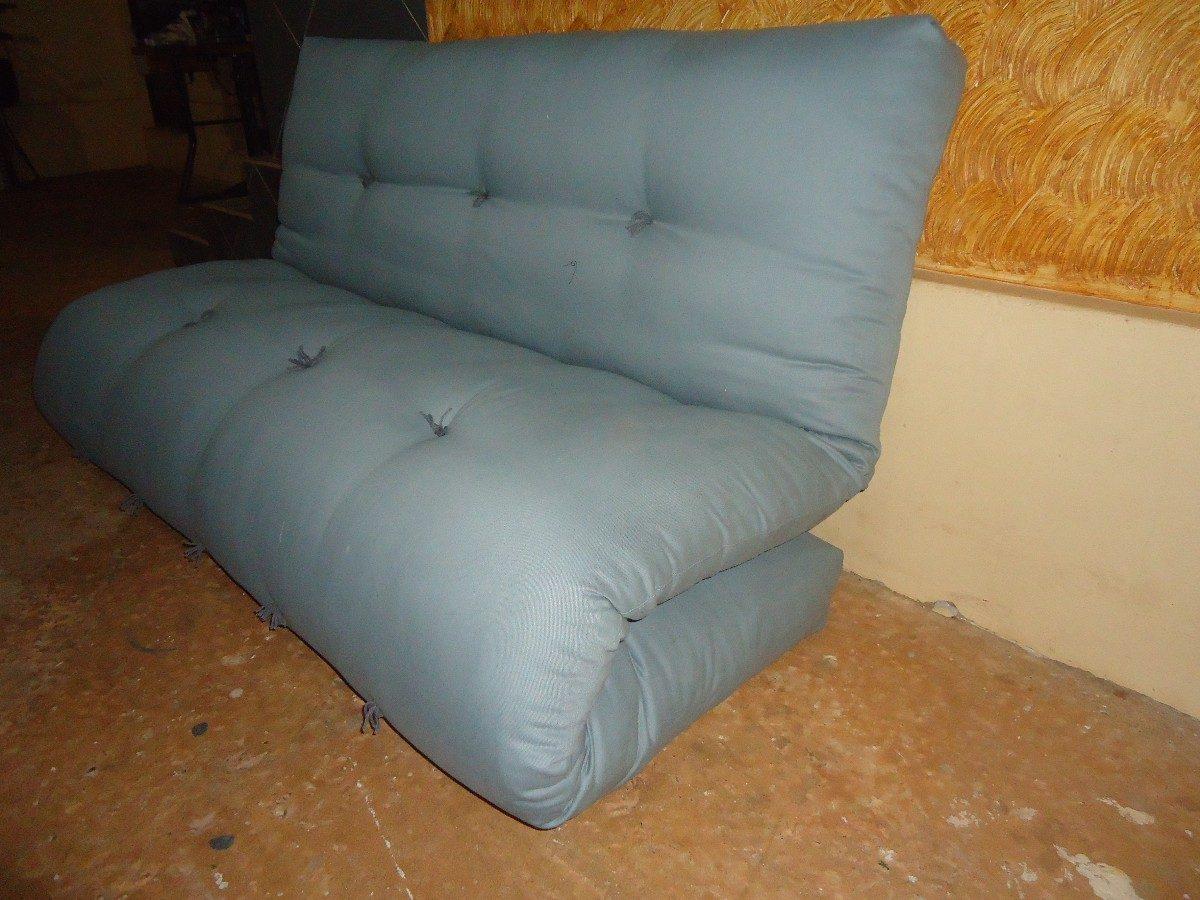 Sof cama em futon r 990 00 em mercado livre for Compra de sofa cama