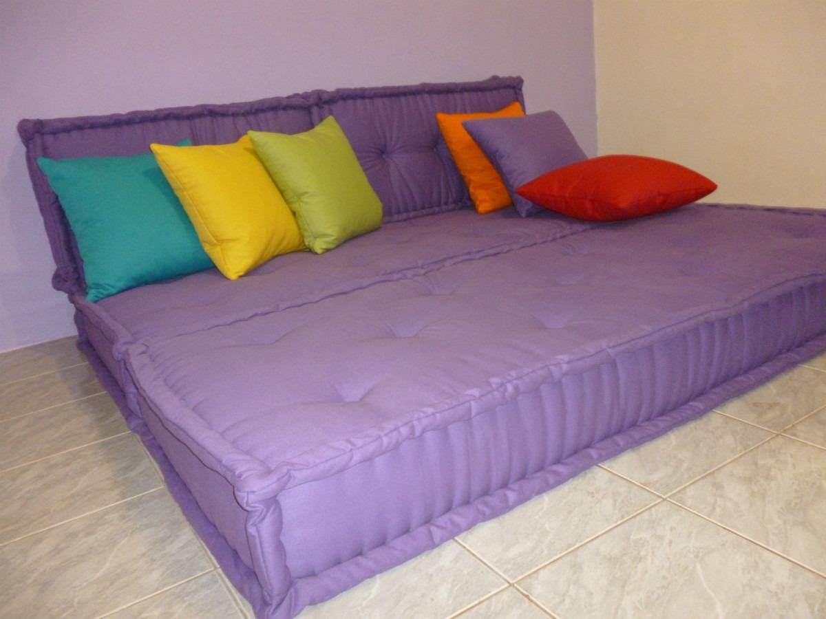 sofa cama em futon turco r em mercado livre. Black Bedroom Furniture Sets. Home Design Ideas