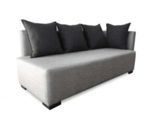 sofá cama feldespato (chenille alpha, 2 plazas (1.90mts x 2.