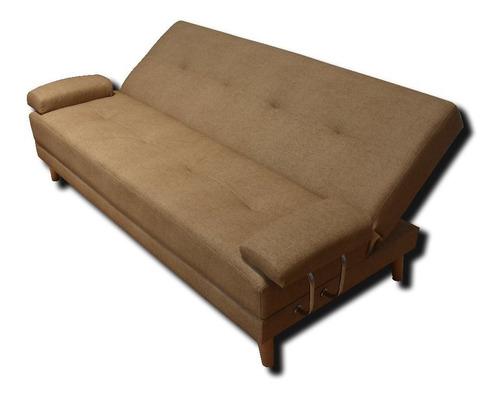 sofá cama ferrati de 3 posiciones con brazos