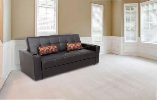 sofa cama / futon canguro con colchoneta venta solo en mty