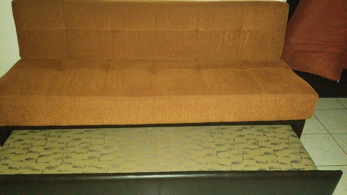Sof cama futon sill n 5 en mercado libre for Futon cama precio