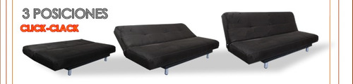 sofá cama futón sillón sofacama sala muebleco envio barato