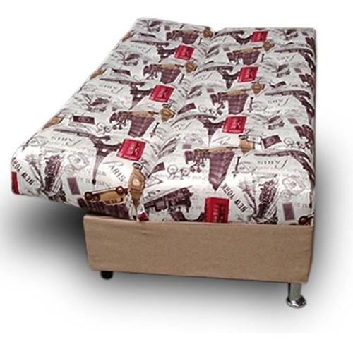 sofa cama individual alex suede paris y lino beige maderian