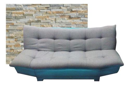 sofa cama individual junior gris modernista salas estancias
