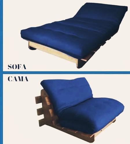 sofá cama individual. matrimonial