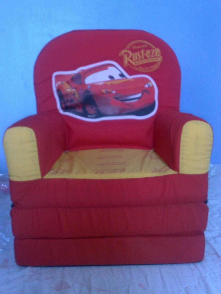 Sof cama infantil cars spiderman princesas minions en mercado libre - Sofa cama infantil ...