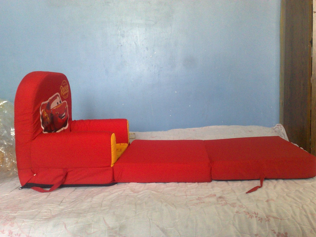 Sof cama infantil cars spiderman princesas pooh for Muebles de princesas