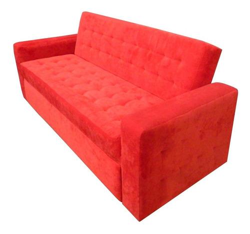 sofa cama libano king size en velvet  mobydec muebles salas