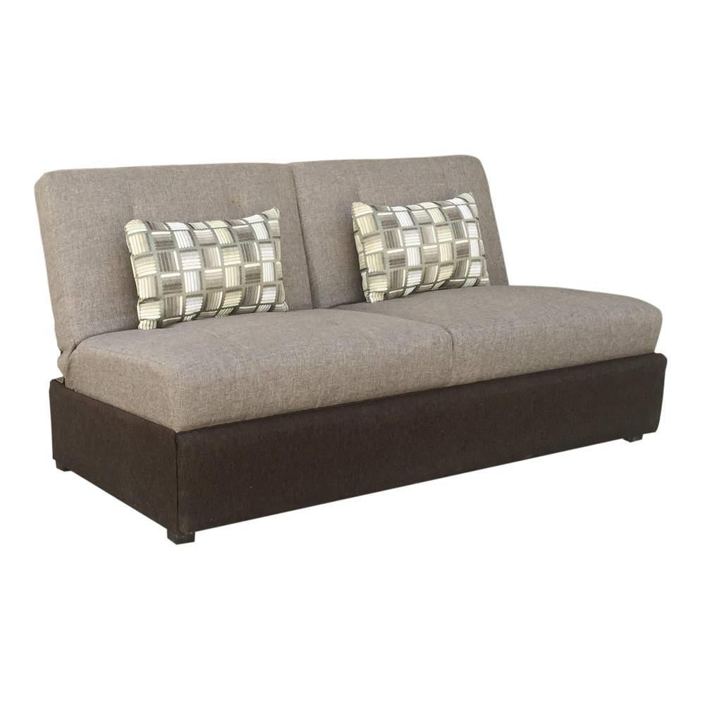 Sof cama litera gris comoda 8 en mercado libre for Sofa cama dos camas