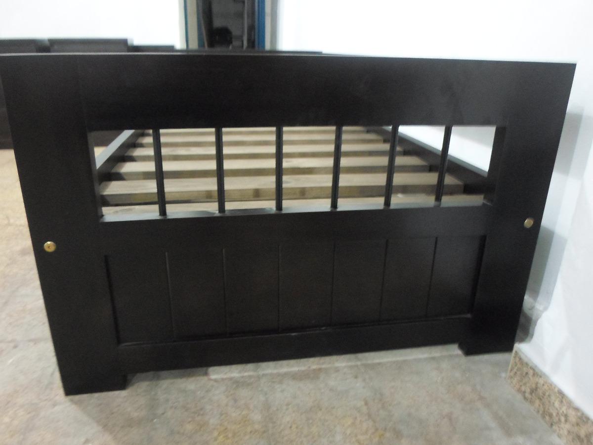 Sofa cama marinera en pino con apliques de hierro 6 - Sofas de hierro para jardin ...