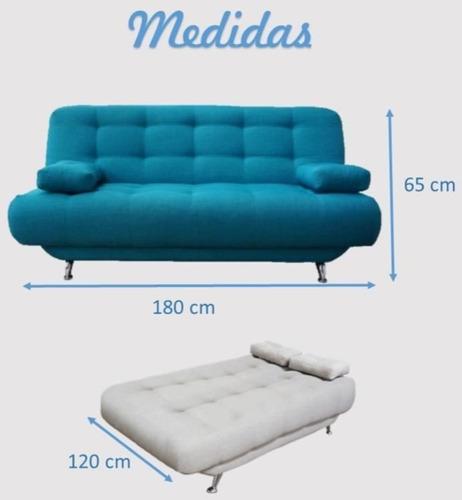 sofa cama matrimonial comodo elegante moderno