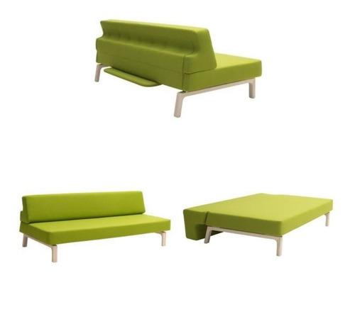 sofá cama matrimonial futón modelo terracota